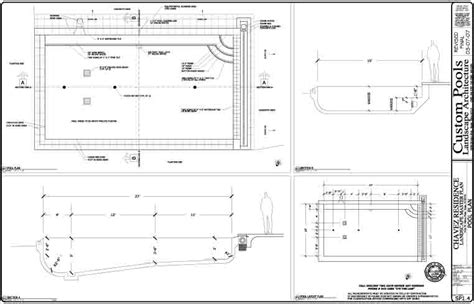 Pool Plans Free | pool layout design best layout room
