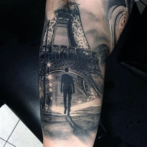 eiffel tower tattoo 60 hyper realistic tattoos for ultra likelike design