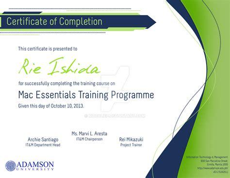 certificate design wallpaper certificate of completion design by mocolief on deviantart