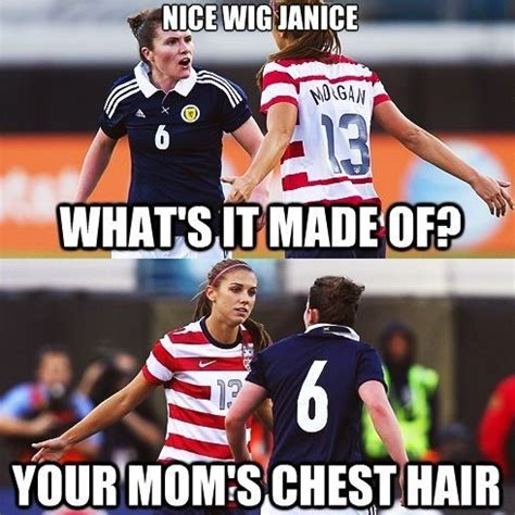 Soccer Player Meme - soccer players love to quote mean girls soccer quotes