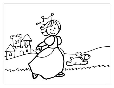 dibujos para pintar gratis de princesas dibujos princesa para colorear y pintar princesas para