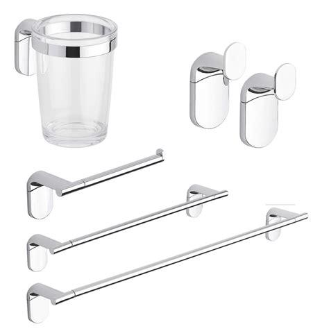 ebay accessori bagno set accessori appoggio bagno cromato acciaio inox