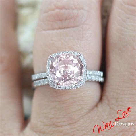 pink band light pink engagement rings www pixshark com