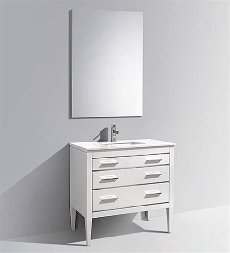 Bathroom Vanities Sydney 36 Quot Sydney White Bathroom Vanity Et6386wh