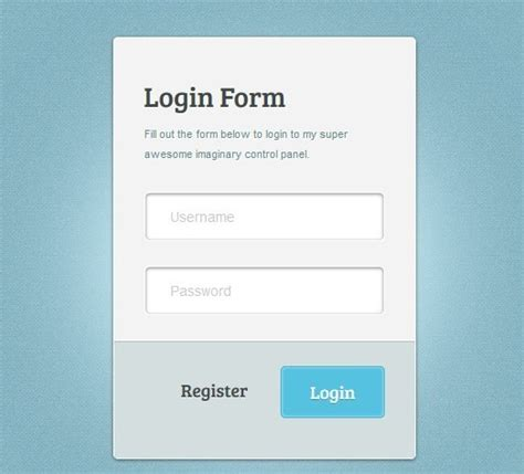20 free html5 and css3 login form templates webprecis