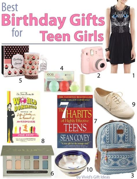 Best Gift Cards For Teenage Girls - best birthday gift ideas for teen girls vivid s