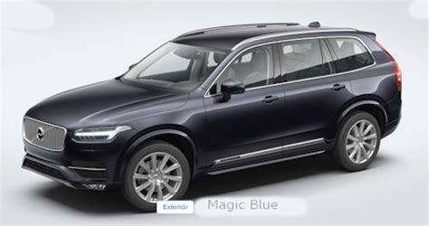all new volvo xc90 exterior colors