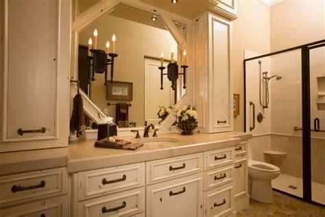 rustic lodge style home rustic bathroom houston