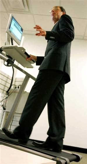 Walk While You Work With The Levine Treadmill Workstation by Walking While Working