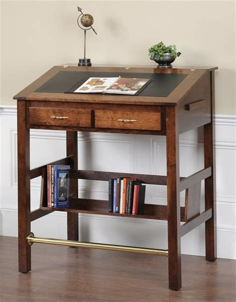 Amish Executive Stand Up Desk Executive Stand Up Desk