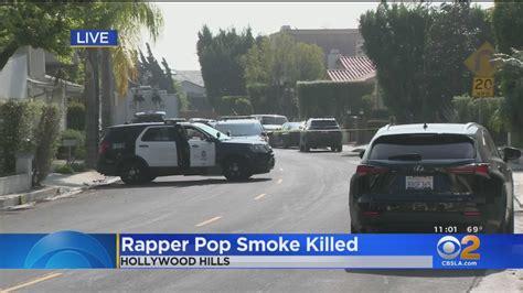 rapper pop smoke shot  death  hollywood hills home