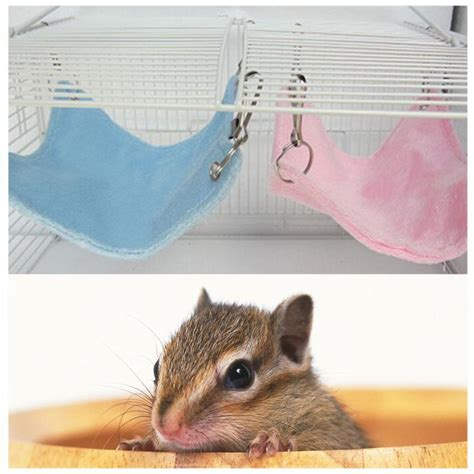hamster bed 16 16cm warm plush cloth hanging bed for hamster