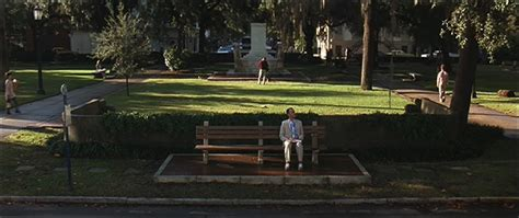 bench locations forrest gump 1994 filming locations the district