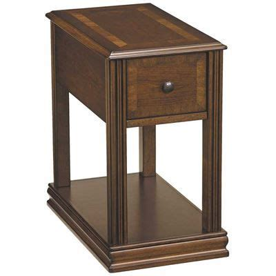 show details  breegin cherry brown chairside  table