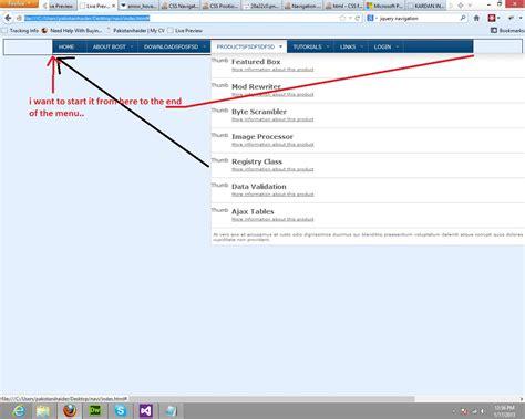 html div tag exles html ul li nowrap