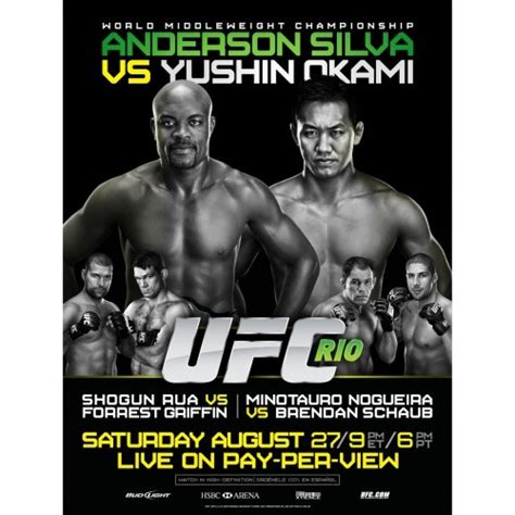 best ufc events 17 best ufc events images on marshal arts ufc