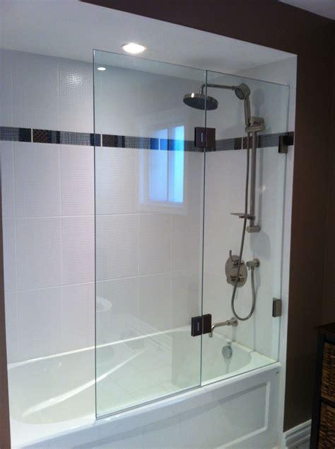 frameless bathtub screen double panel tub screen artistcraft com