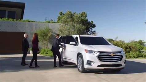 chevrolet traverse tv commercial family reunion