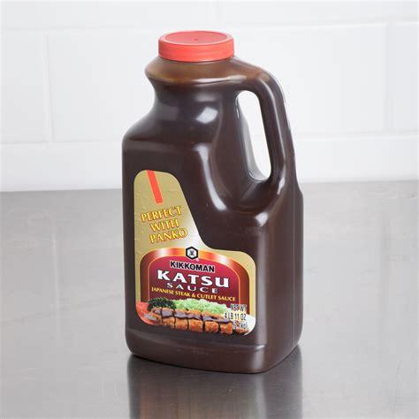 kikkoman katsu sauce  lb container