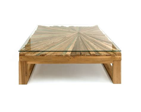 sunburst rustic coffee table eco friendly furniture