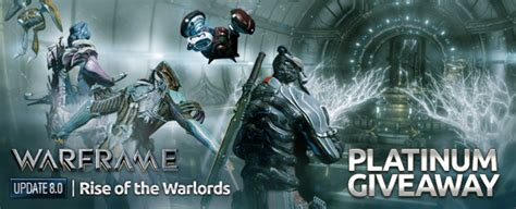 Warframe Free Platinum Giveaway - warframe free platinum giveaway worth 499 mmobomb com