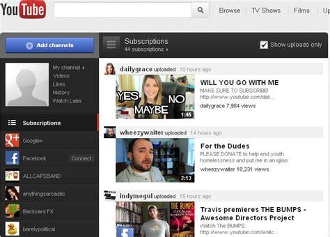 layout youtube 2011 new youtube layout internet marketing blog