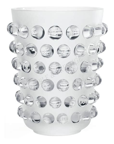 vasi lalique vase lalique mossi 10107700