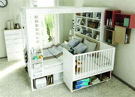 Baby Crib Attached To Bed by Attached Baby Crib Diy For Home