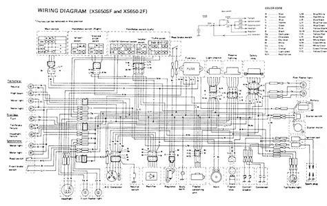 yamaha xs650h 1981 electrical 1 car interior design