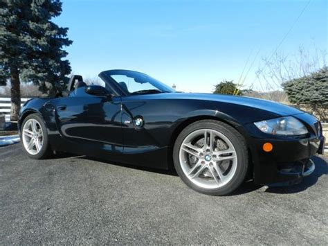 sell used 2007 bmw z4 m roadster convertible 2 door 3 2l in eureka illinois united states for