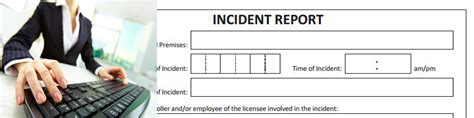 incident register form when to complete