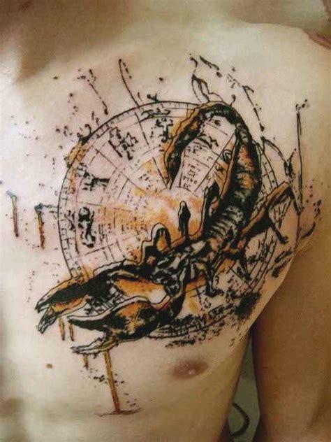 geometric zodiac tattoo 55 best scorpio tattoos designs and ideas with meaning