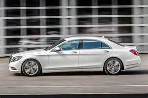 2015 S550 Mercedes 2015 Mercedes S550 In Hybrid Side View In Motion