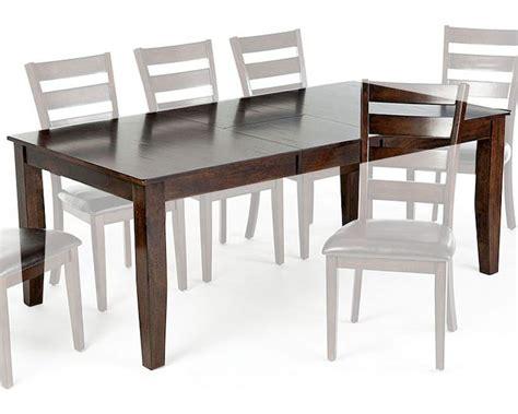 intercon solid mango wood dining table kona inka4278btab