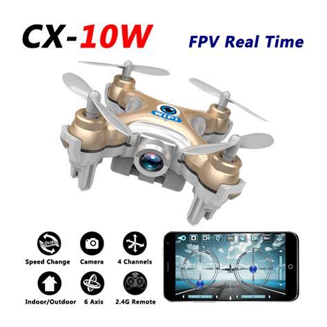 Mini Drone Cx 10 aliexpress buy cheerson cx 10w mini drone with