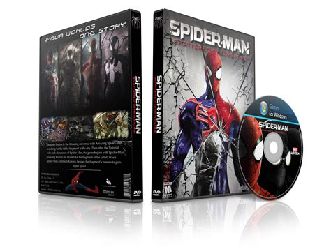 spider man shattered dimensions pc box art cover  amia