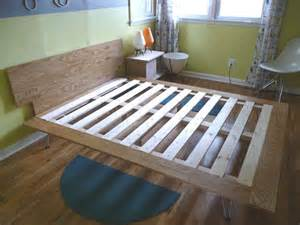 How To Build Your Own Bed Frame How To Build Your Own Bed From Scratch Three Tutorials