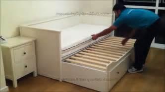 ikea hemnes daybed mattress size