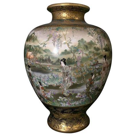 Kinkozan Vase by Kinkozan Vase At 1stdibs