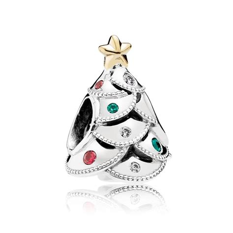 pandora festive tree charm 791999czrmx john greed jewellery
