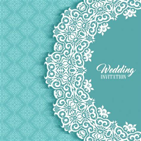 Wedding Card Frames by Wedding Card With A Ornamental Frame Vector Free
