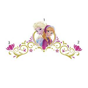 Frame Stickers For Walls disney frozen spring time headboard wall decals wall