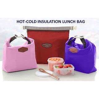 Best Seller New Japanese Iconic Insulated Lunch Picnic Bag Coole iconic insulated lunch bag tote pouch picnic bag heat retaining bag with handle in india