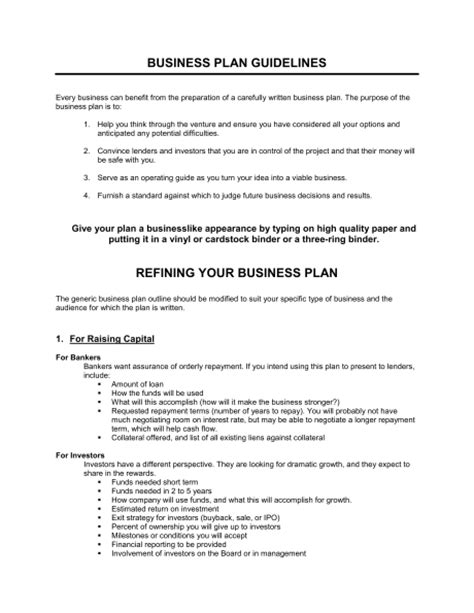 preparing a business plan template preparing a professional business plan buy original