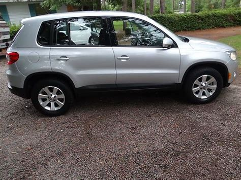 how do cars engines work 2009 volkswagen tiguan parking system purchase used 2009 vw tiguan se 2 0t new engine only 11k miles on new engine in panama city
