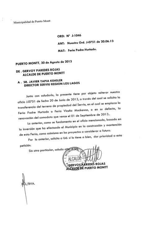 carta autorizacion junta vecinos solicitud comodato y respaldo juntas de vecinos