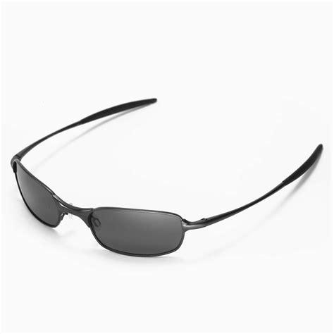 Oakley Half Wire 2 0 2nd Original new walleva polarized black lenses for oakley square wire