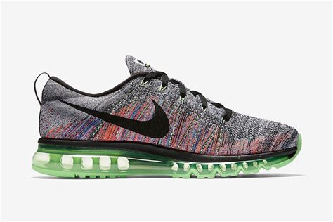 Nike Flyknit Airmax Multi Color nike flyknit air max grey multicolor 620469 103 sneaker