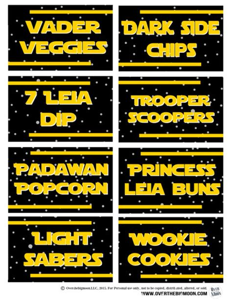 printable pictures star wars ultimate star wars printables round up