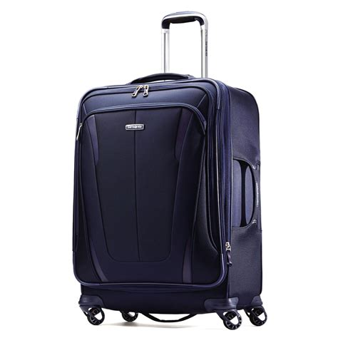 samsonite silhouette sphere 2 25 quot softside spinner luggage wheeled suitcase ebay